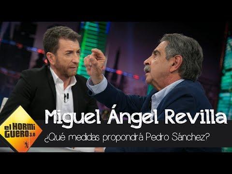 Revilla propone nuevas medidas que Pedro Sánchez conseguiría aprobar - El Hormiguero 3.0
