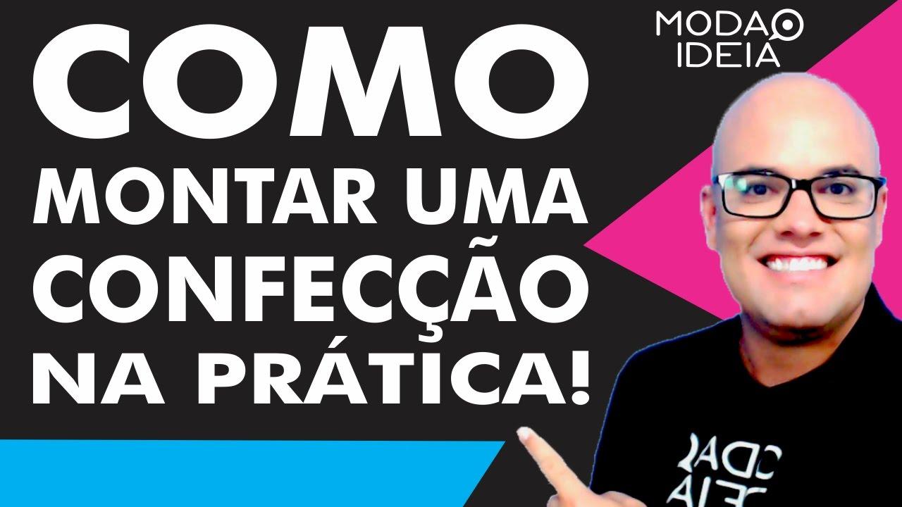 COMO MONTAR UMA CONFECÇÃO E COMO CRIAR UMA MARCA DE ROUPA - YouTube c16a90e99a391