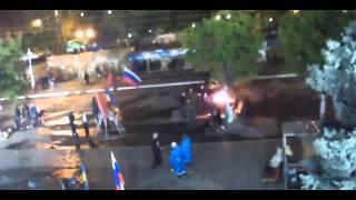 Луганск Здание СБУ Свежее видео Новости Украины