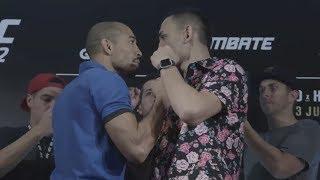 UFC 212: Media Day Faceoffs