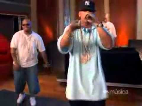 DADDY YANKEE FREESTLYLE AOL CHAT DJ KRYPY OFFICIAL VIDEO