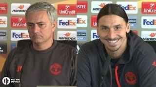 Jose Mourinho: 'Zlatan Option Executed' | Manchester United Vs Feyenoord FULL PRESS CONFERENCE