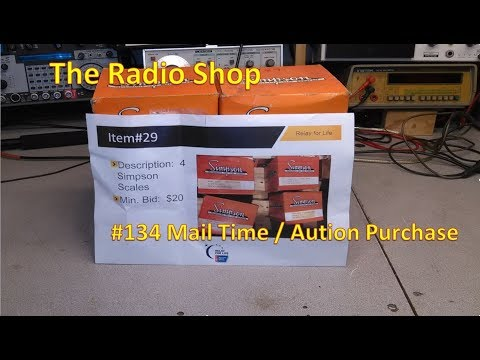 #134 Mail Time   Auction Purchase Items