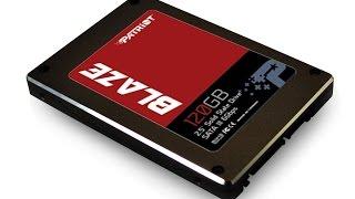 sSD Patriot BLAZE 120 gb sata III test