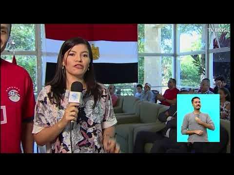 Torcedores do Uruguai e do Egito se reúnem no Brasil para jogo