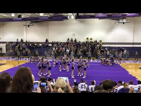 Alvarado High School Camo pep rally dance 2018-2019