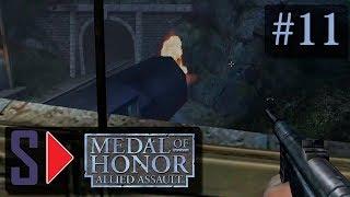 """Medal of Honor: Allied Assault (сложность """"Тяжело"""") - #11 Отвлечение врага"""