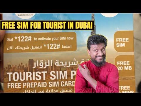 Dubai Offers Tourist Free Sim Pack | Free Sim Card In Dubai | Du Offer | Dubai