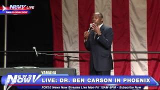 FNN: Full Speech - Dr. Ben Carson Live in Phoenix, Arizona #BenCarson
