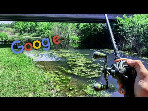 Crystal Clear Roadside Creek! (Google Maps Challenge)