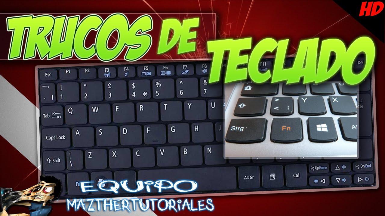 Tutorial trucos con el teclado que no sabias viyoutube - Imagenes con trucos opticos ...