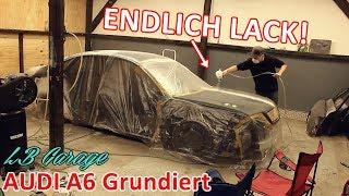 Erster Lack für den Airride Audi A6