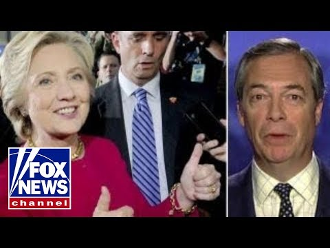 Farage: All sorts of things went on between Clinton-Russians