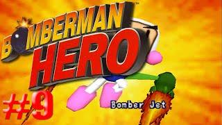 Vuelo en el Bomberjet/Bomberman Hero #9