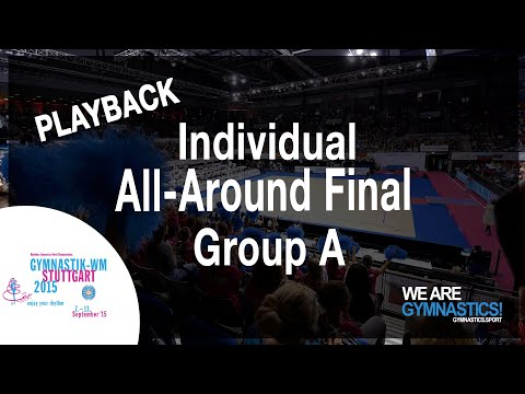 FULL REPLAY: 2015 Rhythmic Worlds, Stuttgart (GER) - Individuals All Around - Final Ranks 1-12
