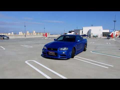Nissan Skyline GTR R34 at JDM EXPO (JAPAN)