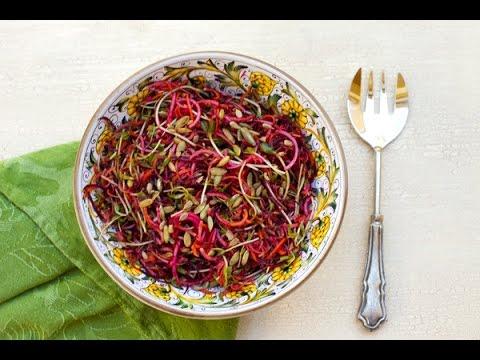 Beet, Apple & Carrot Salad