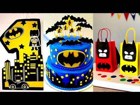 30 Batman Party Ideas Diy Youtube