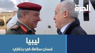 المبعوث الأممي في بنغازي وعودة الطيران إلى جنوب ليبيا