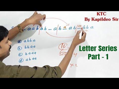 Letter Series Part - 1 (Repeated Series) in hindi || verbal reasoning By Kapildeo Sir