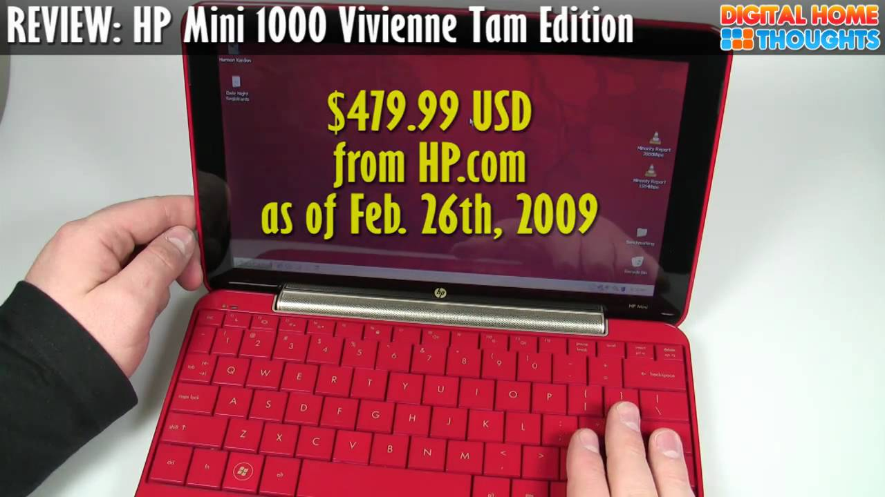 HP MINI 1140NR VIVIENNE TAM EDITION TREIBER WINDOWS XP
