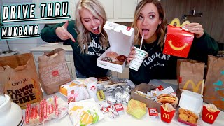epic drive thru mukbang...aka so much fast food! vlogmas day 11