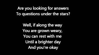 Dave Matthews Band - Where Are You Going (Lyrics Video)