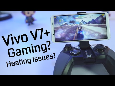 Vivo V7+ Gaming Review and Heat Test