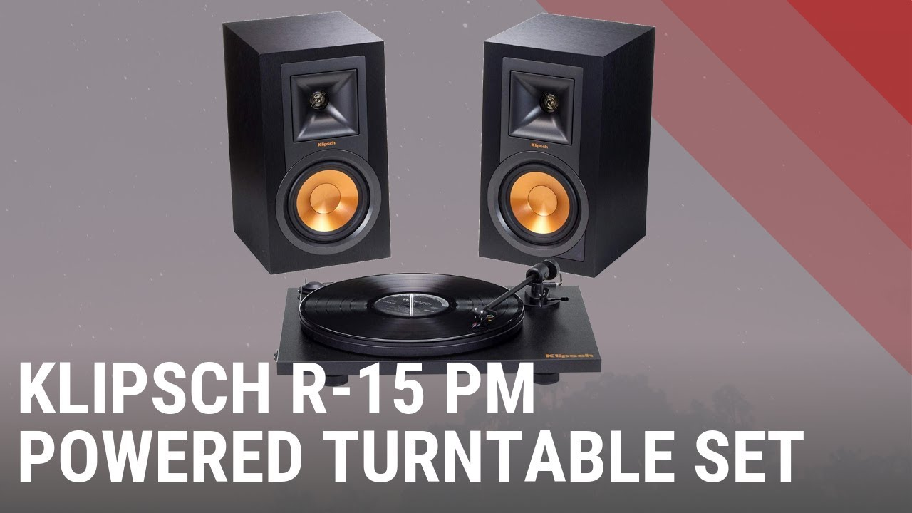 Klipsch R-15PM Powered Turntable System (set) - Quick Look India