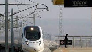 挑戰新聞軍事精華版--中國高原高鐵「蘭新線」通車