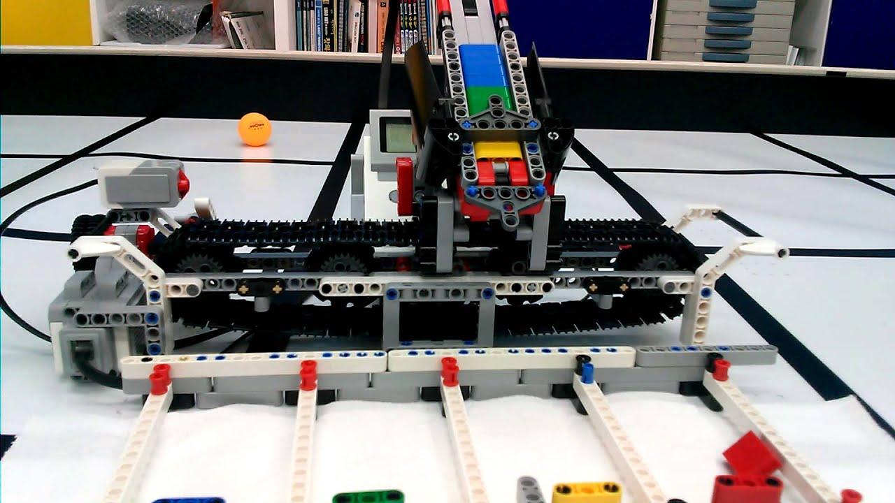 LEGO EV3 Color Sorter - YouTube