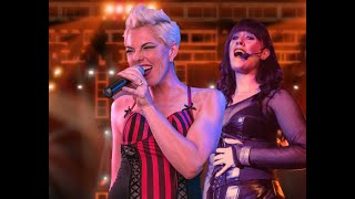 "NSE- RAISE YOUR GLASS-PINK Tribute ""Lady Marmalade"" NEAL SHELTON ENTERTAINMENT BOOKING"