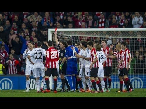 Cristiano Ronaldo RED CARD (vs. Athletic Bilbao | 02/02/2014)