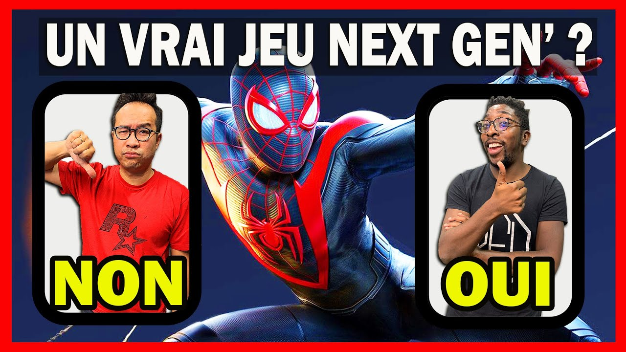 Spider-Man Miles Morales PS5 : UN VRAI JEU NEXT GEN' ? [TEST + DÉBAT + GAMEPLAY]