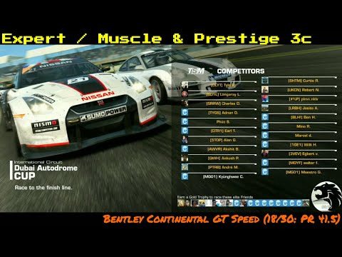Real Racing 3 Muscle and Prestige 3c Cup @ Dubai Autodrome