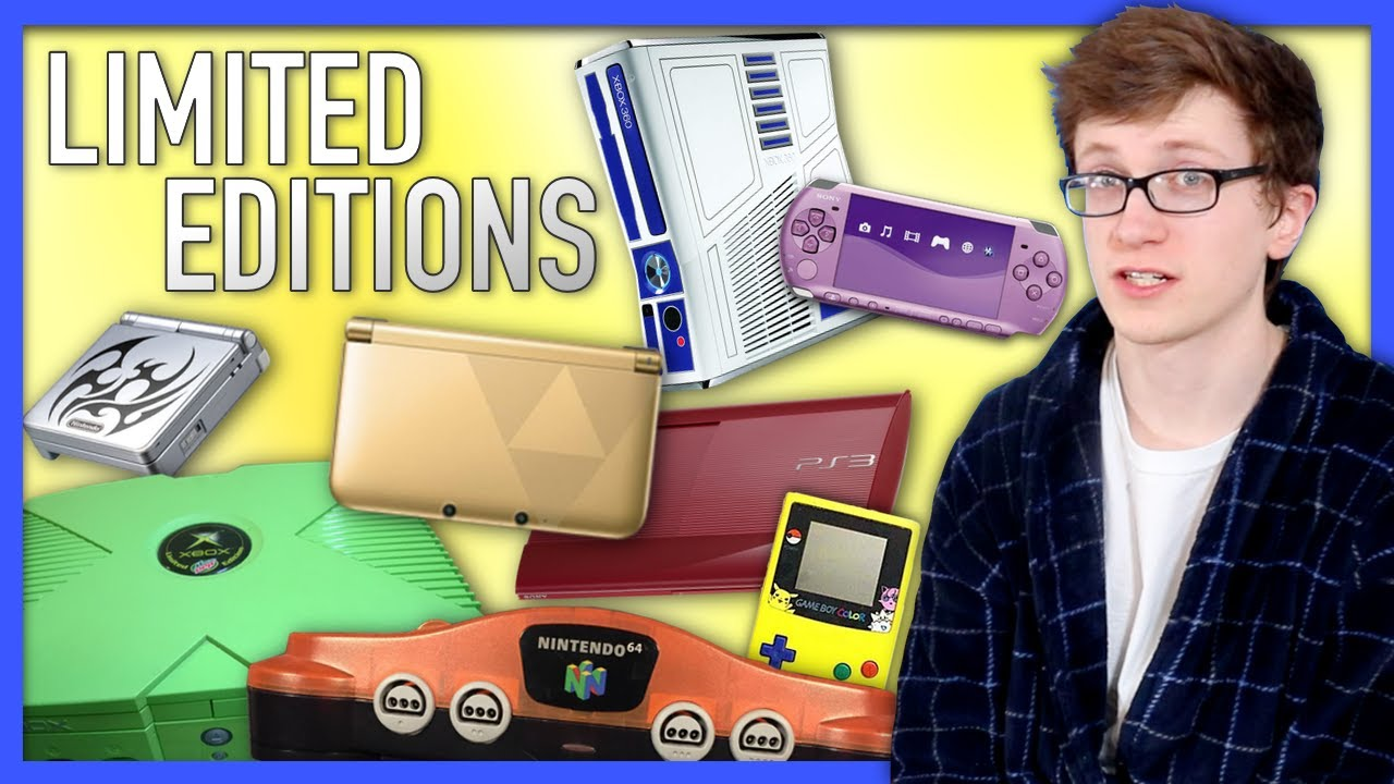 Limited Edition Consoles - Scott The Woz