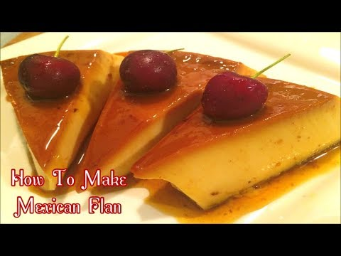 How To Make A Delicious Mexican Flan... EASY AND SIMPLE!!!