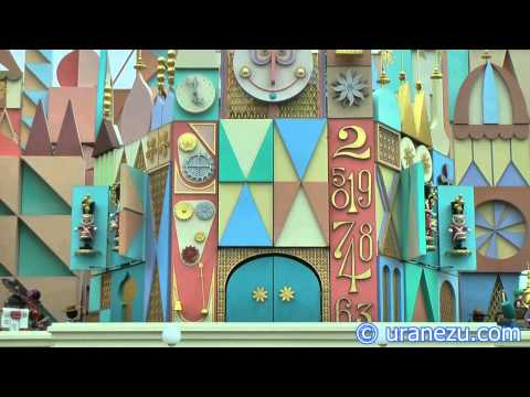 Automaton Clock of It's a Small World at TDL.