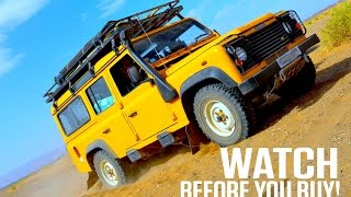 TOP 10 BUYING TIPS. Land Rover Defender buying guide. Complete walk round