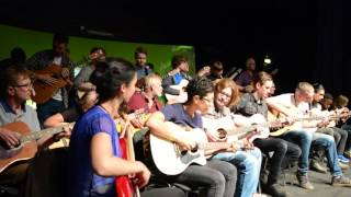 Guitar Revolution (Live) at the London Acoustic Show 2016 - The Chris Woods Groove Orchestra