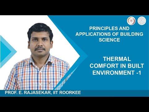 Thermal Comfort in Built Environment -1