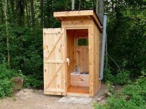 Дачный туалет своими руками. Часть 1-ая