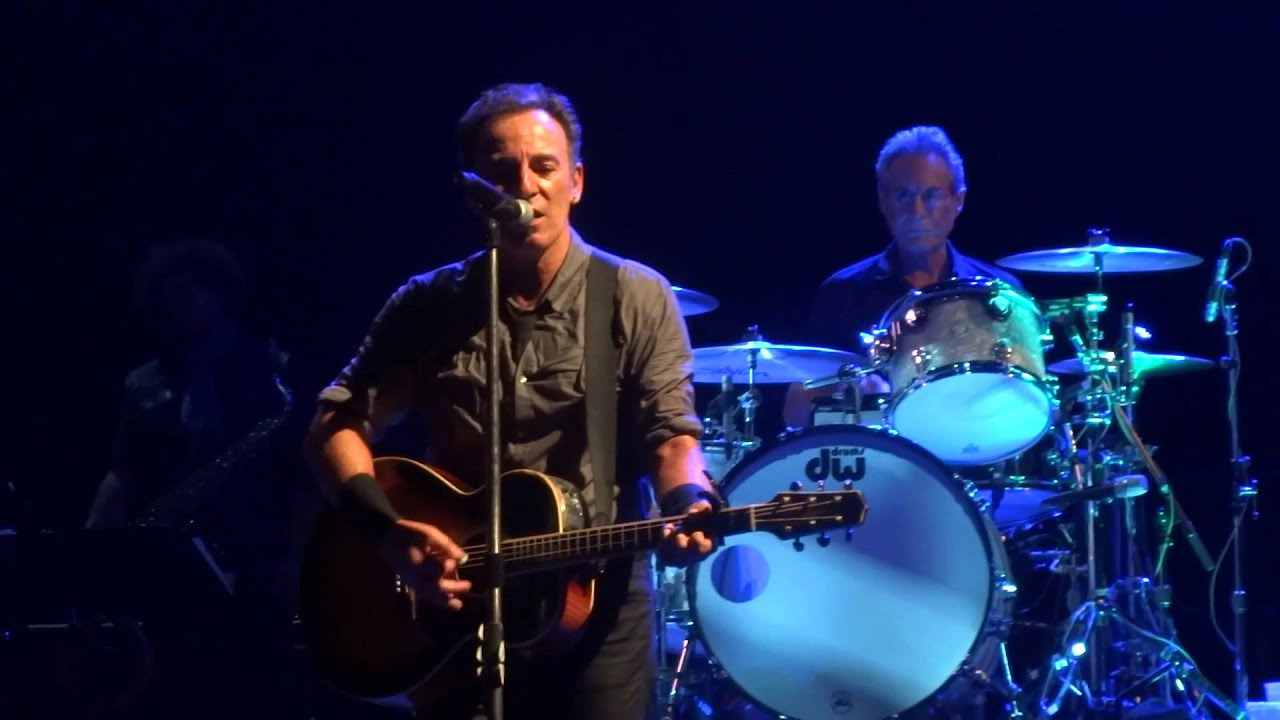 Bruce Springsteen 2013 07 24 Leeds Secret Garden European Debut Youtube