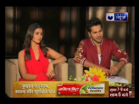 'Badrinath Ki Dulhania' starcast Varun Dhawan and Alia Bhatt in conversation with India New