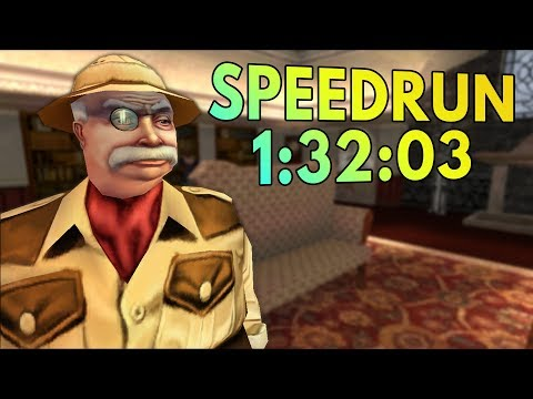 No One Lives Forever Speedrun in 1:32:03 [World Record]