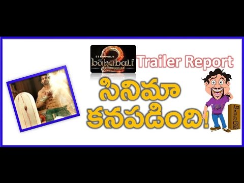 Thumbnail: Baahubali 2 Trailer Report | The Conclusion Official Part 2 | Rajamouli | Prabhas | Maruthi Talkies
