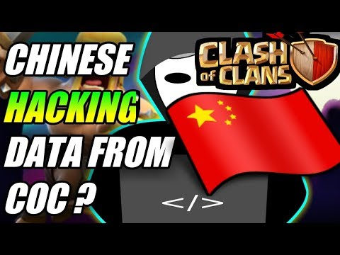OMG {DOES CHINESE ARE HACKING DATA FROM COC}