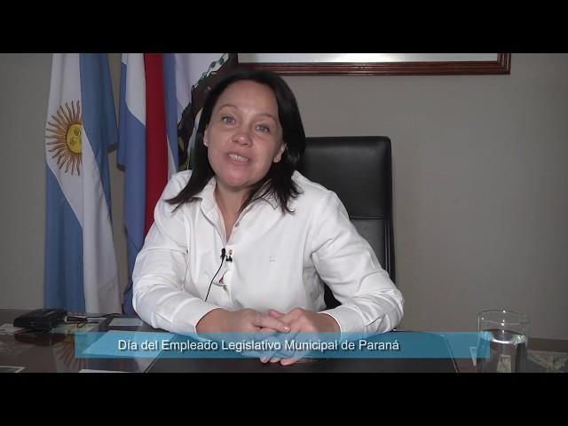 Salutación por el Día del Empleado Legislativo Municipal