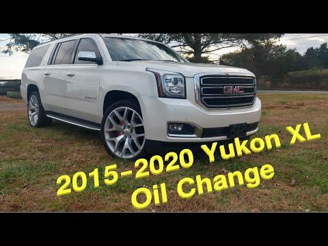 2015-2020 Yukon Tahoe Suburban Silverado Sierra Oil Change (8.5 QUARTS!!!)