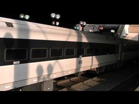 NJ Transit Meadowlands Event Service Train #1518 at Secaucus 8/24/12